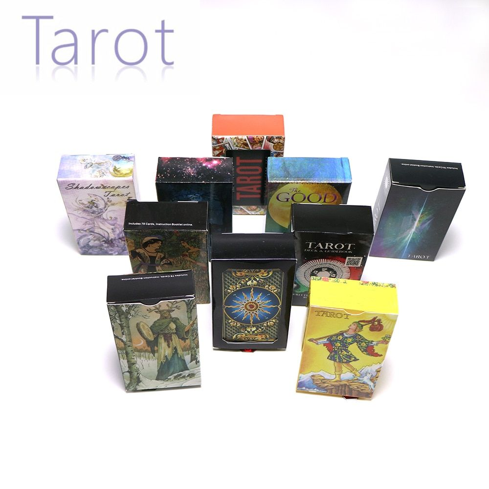 14 style tarot cards English version mysterious divination