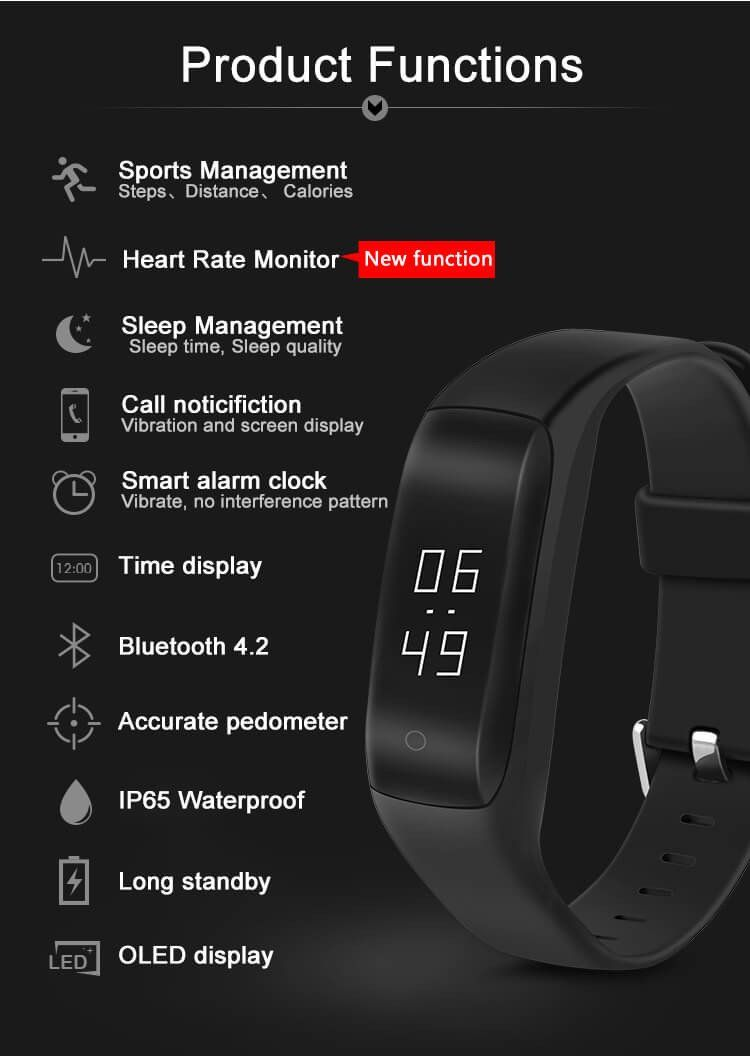 Fitbit Charge Dynamic Heart Rate Monitor + GPS Record +