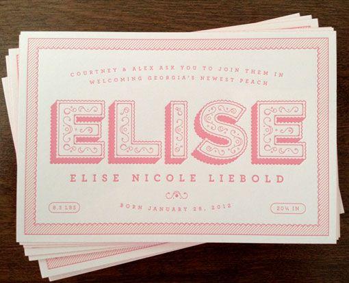 Alex Liebold: Birth Announcement