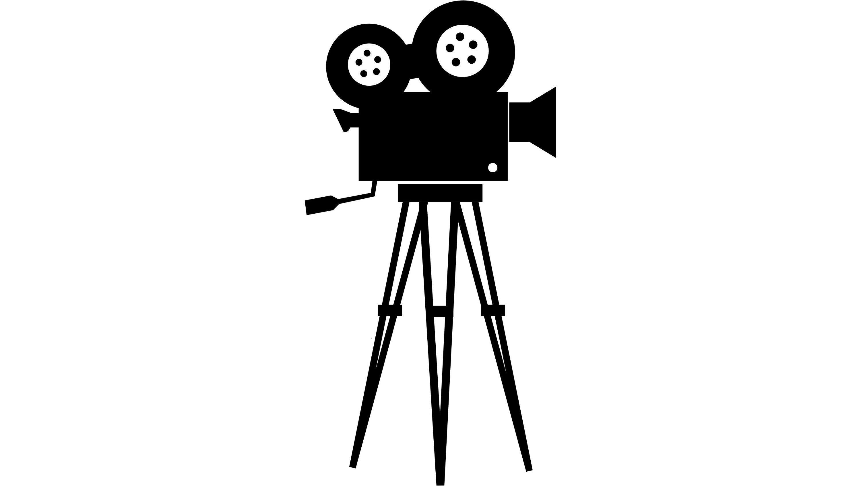 Movie Camera Clipart Png V 2020 G Cherno Beloe Risunki Risunok
