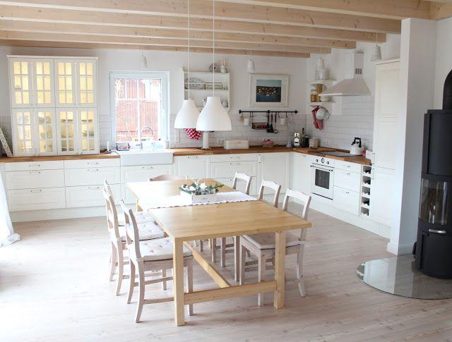 landhaus küche Haus Pinterest Kitchens, Swedish interiors and - Küche Ikea Landhaus