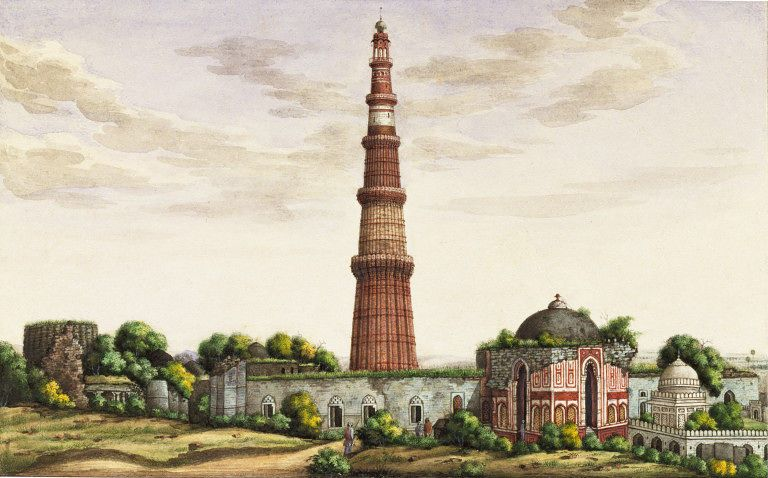 Sixty Drawings Of Mughal Monuments And Architectural Details