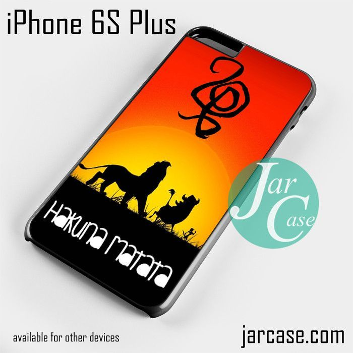 Hakuna Matata (2) Phone case for iPhone 6S Plus and other iPhone devices