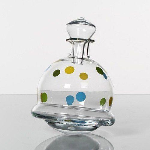 LA VIDA FLASCHE / KARAFFE CHRISTIAN DOTS / http://ammazing.de/product/La-Vida-Flasche-Christian-Kippelkaraffe-B00FWZ0IVY