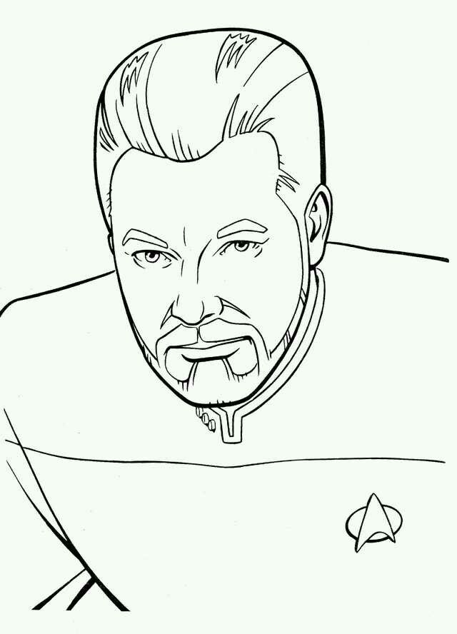 Pin By Tim Jones On Coloring Pages Star Trek Coloring Books