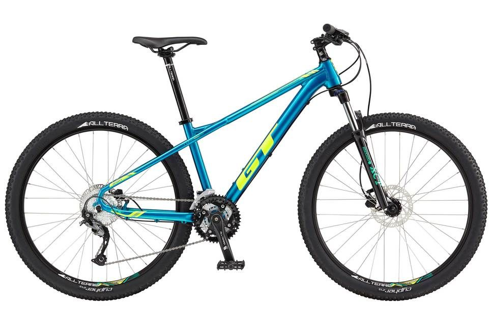Gt Avalanche Sport 2017 Womens Mountain Bike Blue Green Xs