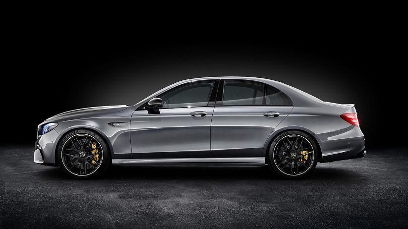 2018 Mercedes Amg E63 Side View