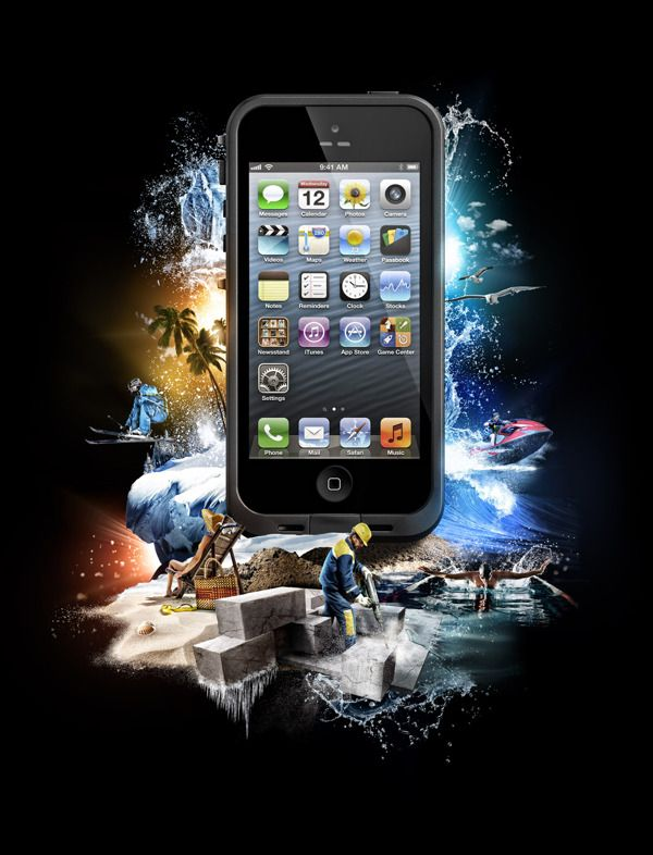 official photos 18b2c ae520 LIFEPROOF by Mike Campau, via Behance | Key Visual Ad | Best iphone ...