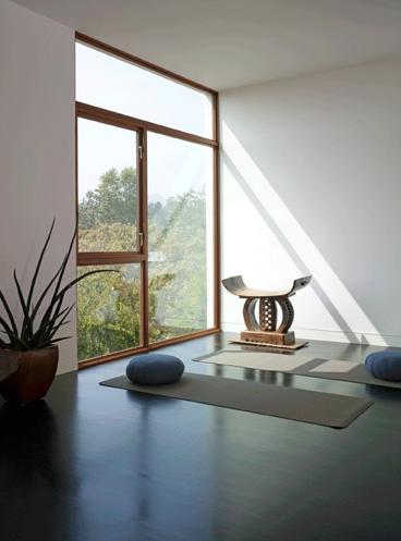 Feng shui for meditation room decor