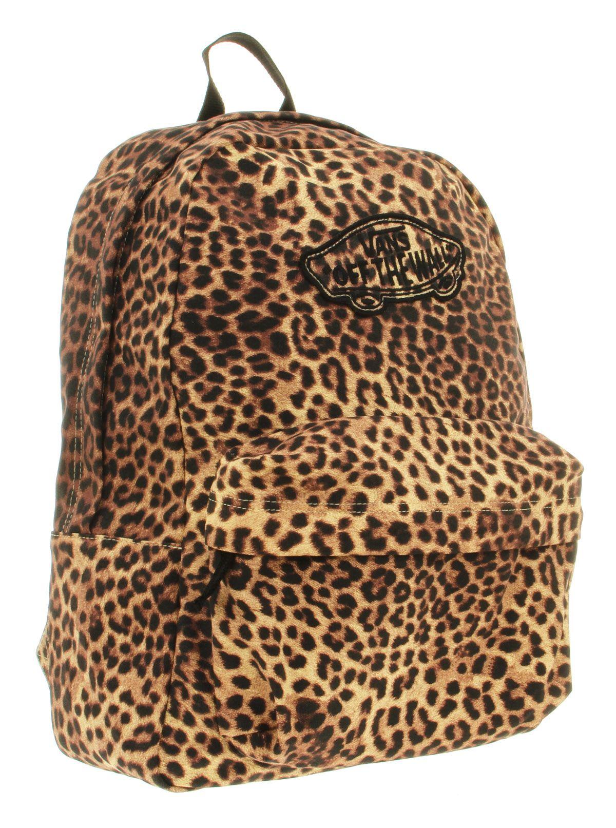 71bc08d6d1 Vans realm backpack leopard print shoes accessories sports