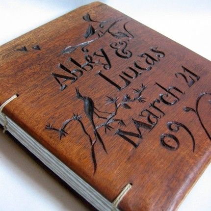 I Want To Make My Own Guest Book Wood Outer Cover This