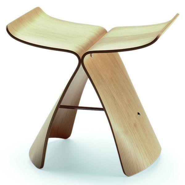 Inspirational sori Yanagi butterfly Stool