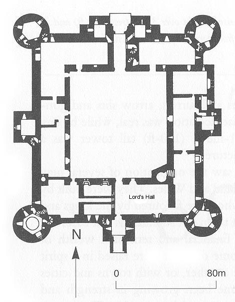Arch Bodiam Castle Near Robertsbridge England 14th Century Castle Layout Castle Floor Plan Floor Plans