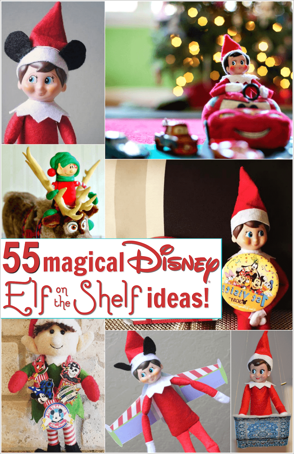 Disney Elf On The Shelf Ideas 55 Magical Elf Scenarios Elf On