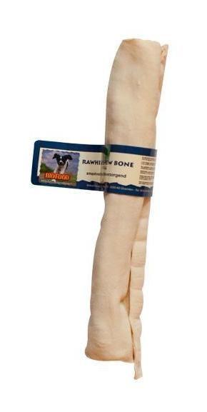 L'os à ronger exclusif naturel BIOFOOD, confectionné à partir de tissu conjonctif sous-cutané de boeuf, est un produit savoureux, sain et entièrement assimilable, qui soigne la dentition et ne contient pas d'additifs chimiques. Pour toutes les races de chiens, du chiot au chien senior. 3 tailles disponibles (voir détails) Tailles : - Medium - P3464 -15 cm / 82 g - Large - P3465 - 23 cm / 120 g - X-Large - P3466 - 30 cm / 160 g Parce que votre chien a un besoin instinctif de mastication, le conta