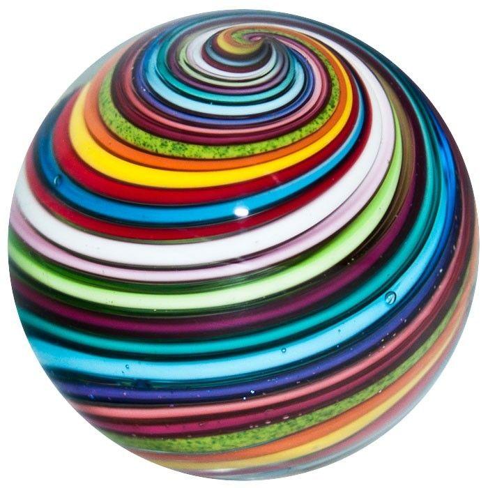1 3 8 Glass Marble Eddie Seese Brilliant Joseph S Coat Swirl Marble Marble Art Glass Marbles Glass Paperweights