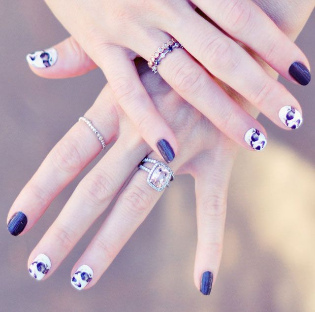 Custom Nail Art Wrap Stickers Manicure-pets