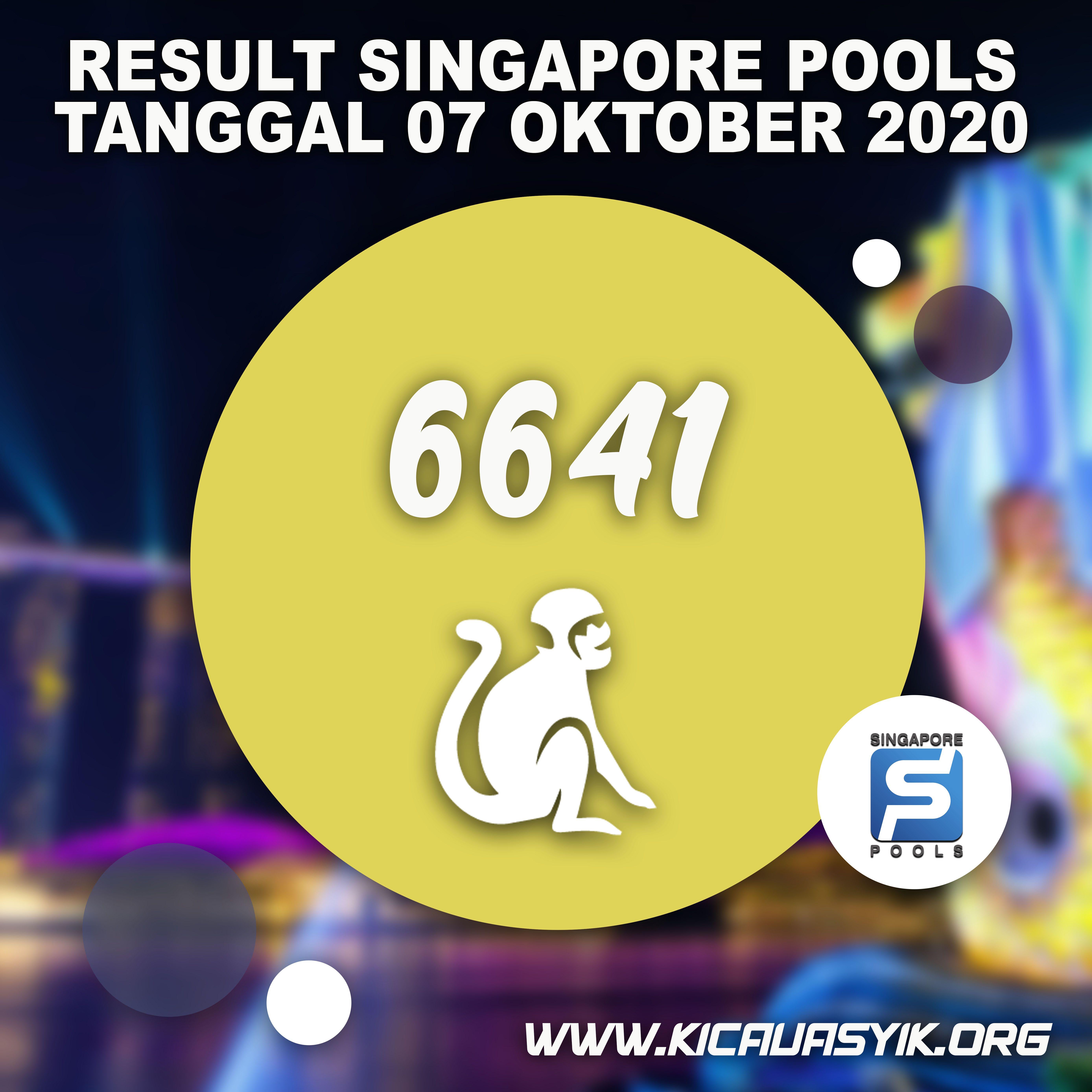 Result Togel Singapore Kicau4d 07 Oktober 2020 Di 2020 Kasino Tanggal Singapura