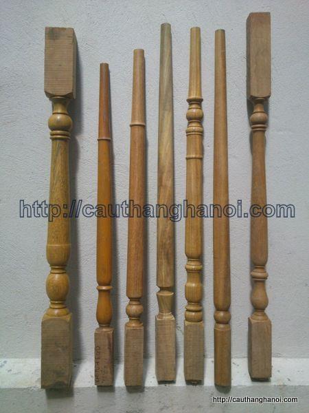 con tiện cầu thang gỗ Mẫu con tiện Cầu Thang Gỗ   Chất liệu con tiện: Gỗ Lim Nam Phi, Gỗ  con tiện cầu thang gỗ