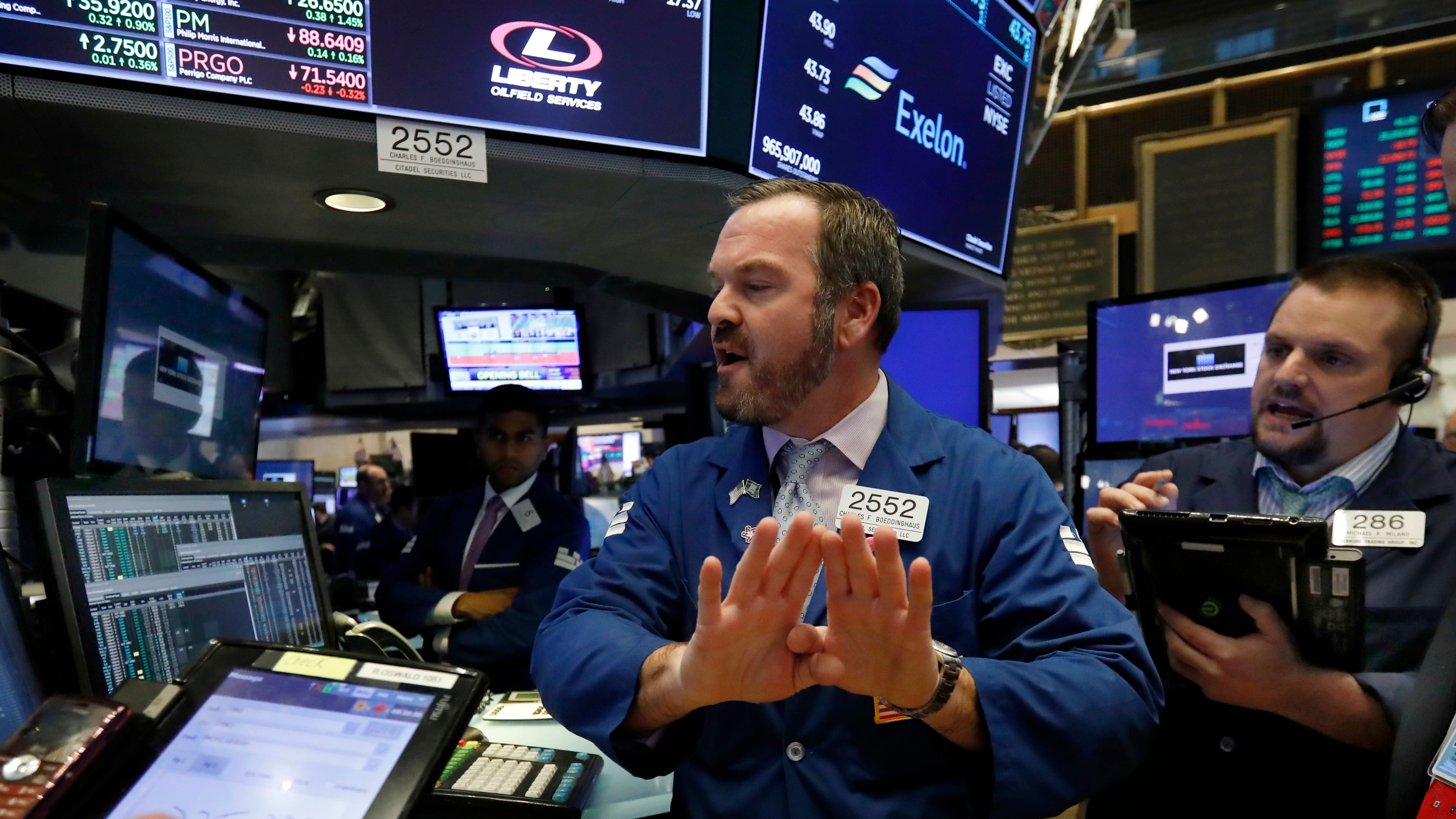 Stock market drops again wiping out 2018 gains for the Dow