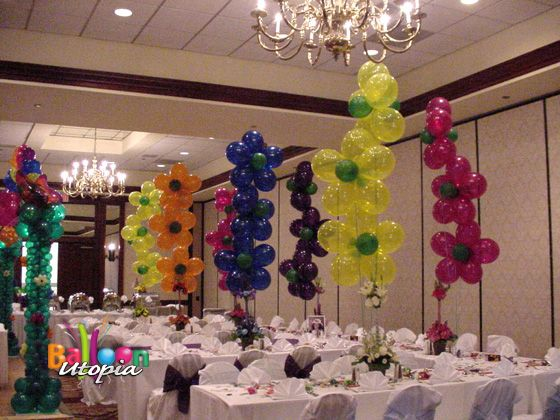 Photo gallery quinceanera props san diego balloons for Balloon decoration ideas for quinceaneras