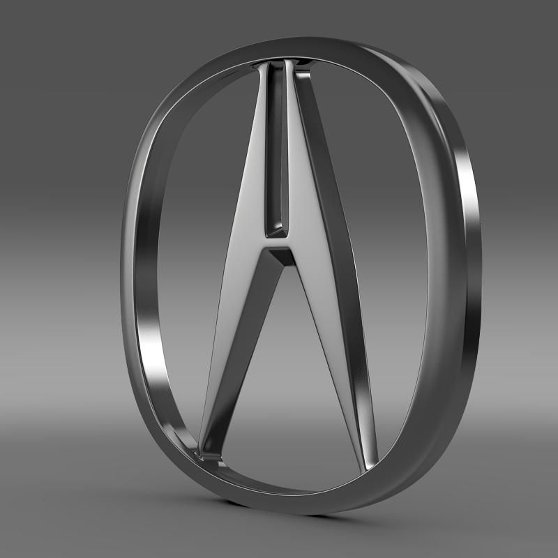 Acura, Honda Motors, 3d Model