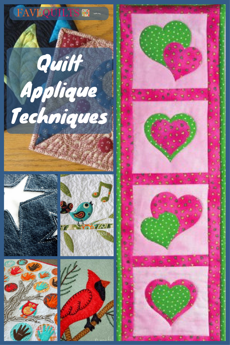 Quilt Applique Techniques Applique Tutorial Machine