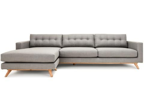 Belmont - Custom Affordable Tufted Back Sectional from Clad Home / Cost: TBD around $2698