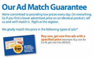 The New Walmart Price Match Policy How To Combat The Changes Fun Cheap Or Free Walmart Coupon Walmart Coupon Matchups