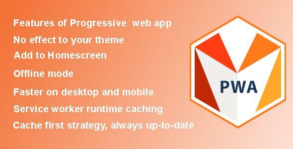 Magento 2 PWA - Progressive Web Application extension for