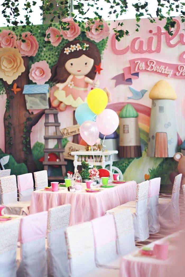 Magical Fairy Birthday Party   Fairy Birthday Party Ideas ...