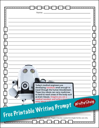 Robot writing prompt Writing prompts, Prompts and Robot - how to write an appeal