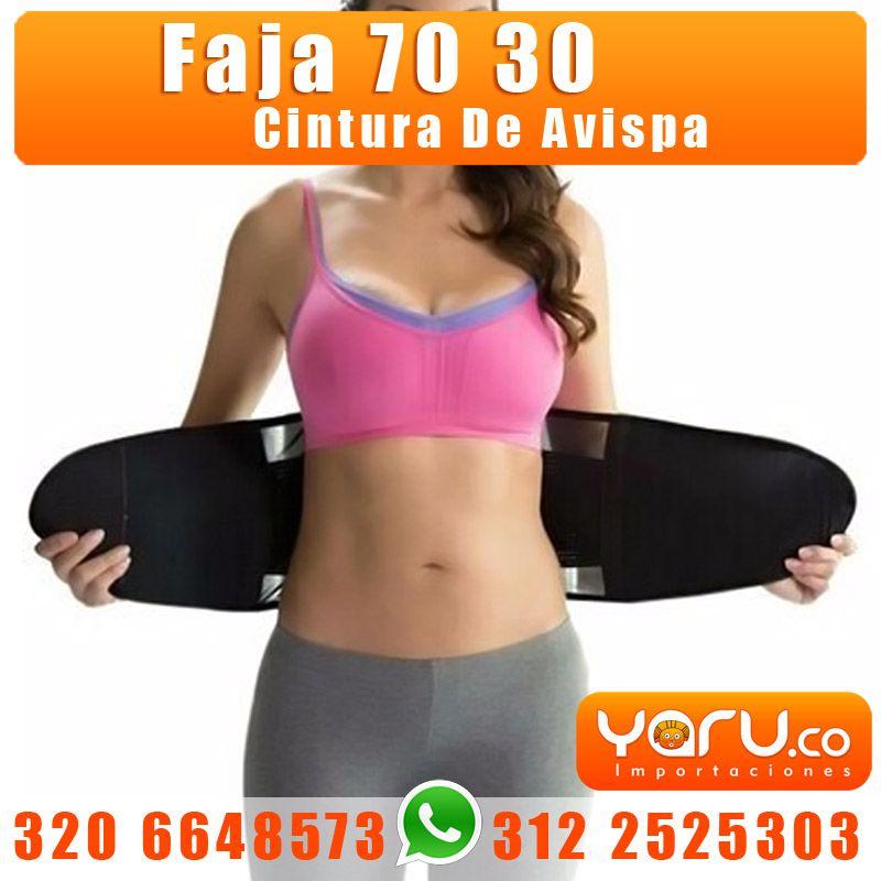cfc6fa963 YARU IMPORTACIONES www.yaru.co - Whatsapp  320 664 85 73 - 312 2525303 -  Faja Cinturilla 70 30 Cintura de avispa