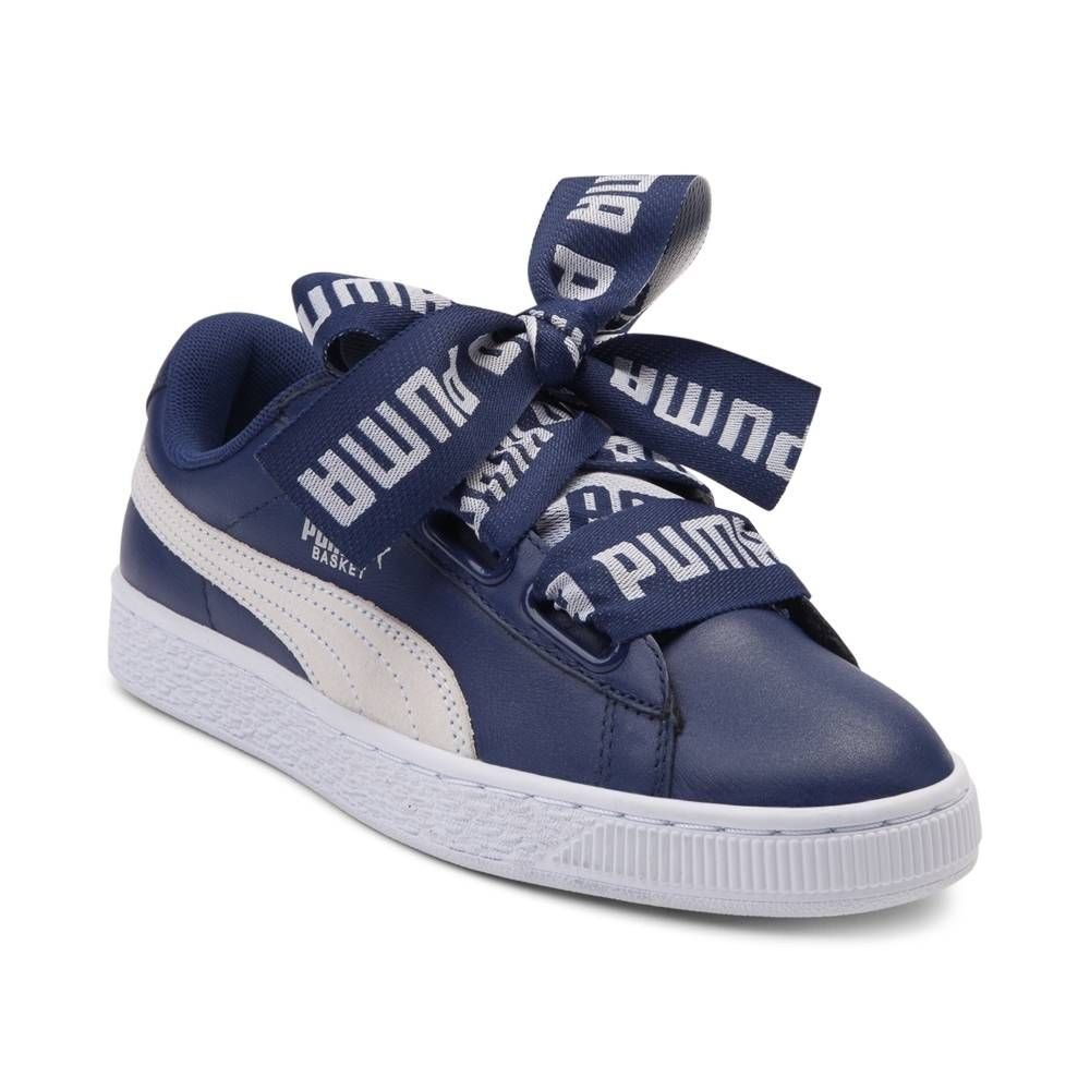 18adda1df8bf Womens Puma Basket Heart DE Athletic Shoe