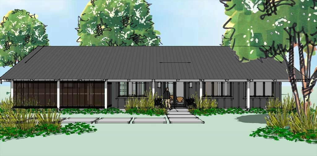 Ranch Style House Plan 3 Beds 2 Baths 1872 Sq Ft Plan 449 16 Modern Style House Plans Ranch Style House Plans Ranch House Designs