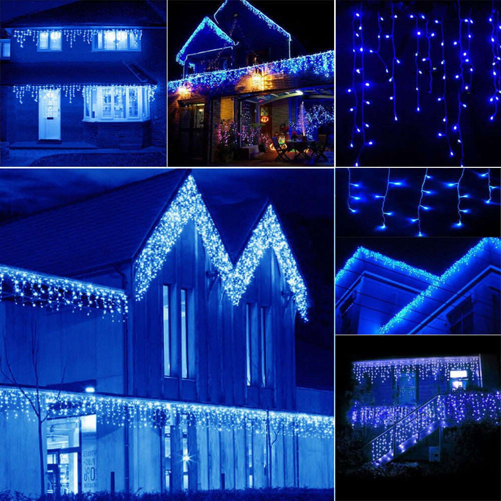 Remote 960 LED String Fairy Light Christmas Party Wedding Outdoor Indoor Light