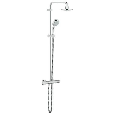 new tempesta 160 shower system with thermostat for wall mounting grohe