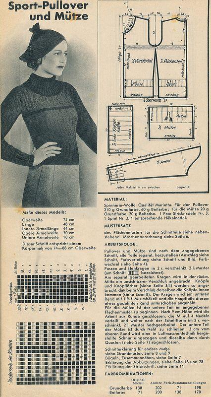 Spinnerin-Lehrbuch, 1930er | Paraíso terrenal | Pinterest | Tejido