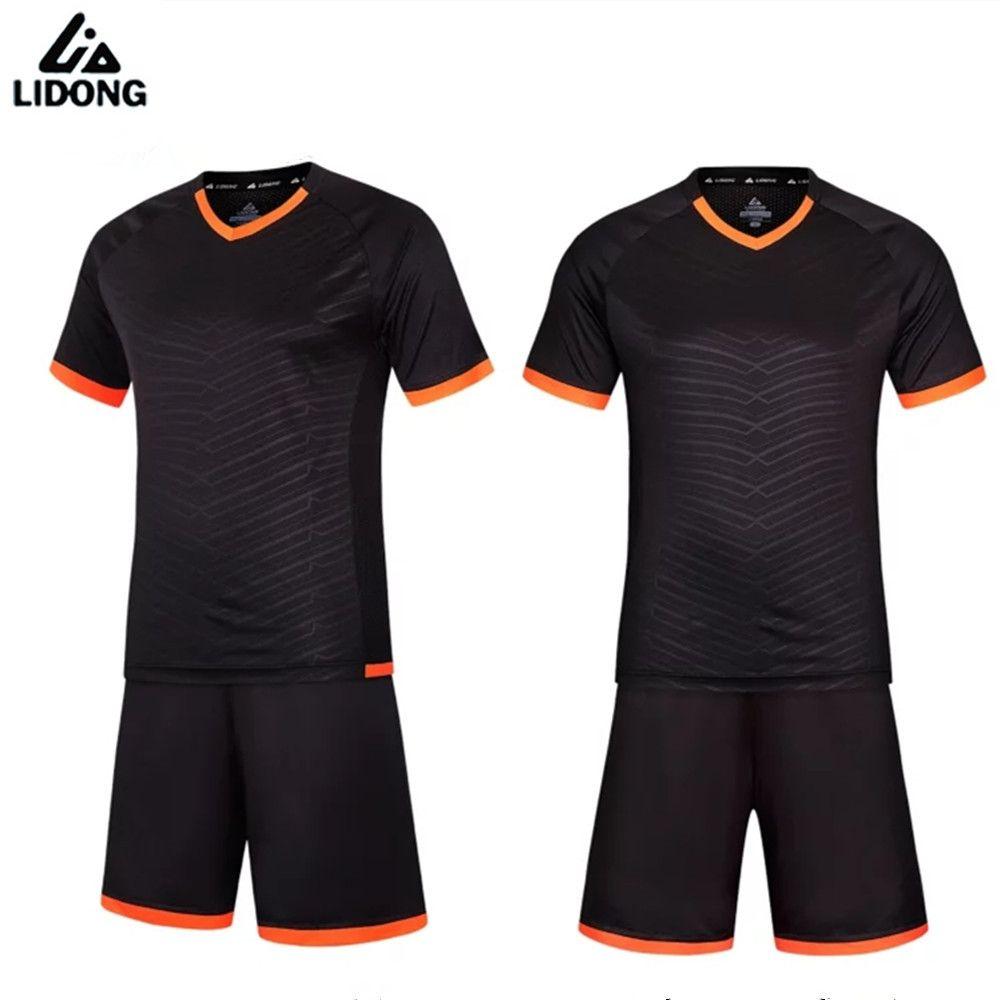 0dba72d4b check discount maillot football 2017 men soccer jerseys set youth kids  survetement kits boys training  football  kits