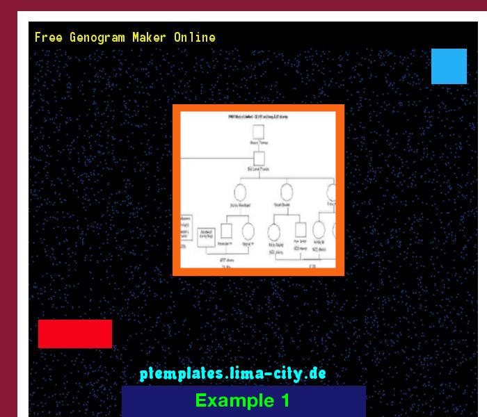 Free Genogram Maker Online  Powerpoint Templates 1351