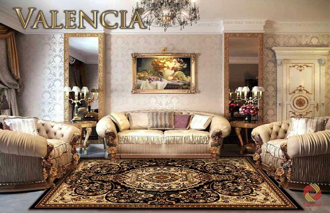 Karpet Valencia Dapat Memberikan Kesan Mewah Dan Klasik Pada Tiap Ruangan For More Info Living Room Decor Furniture Glamour Living Room Victorian Living Room