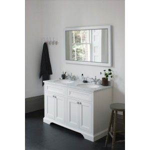 Burlington 130 Vanity Unit With Minerva Worktop Double Bowl Up To Off At Drench Free Delivery Over Finance Available