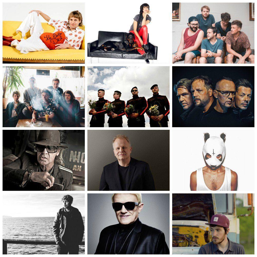 German Music 2016: Rock, Rap & Schlager   German Language Musicians