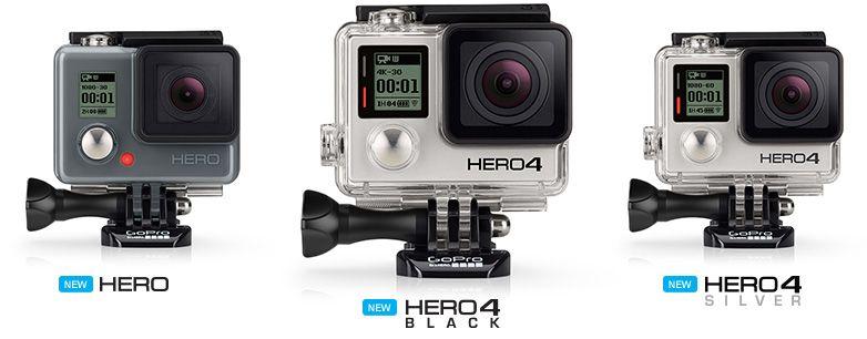 New Gopro Hero 4 Gopro Accessories Gopro Camera Action Camera