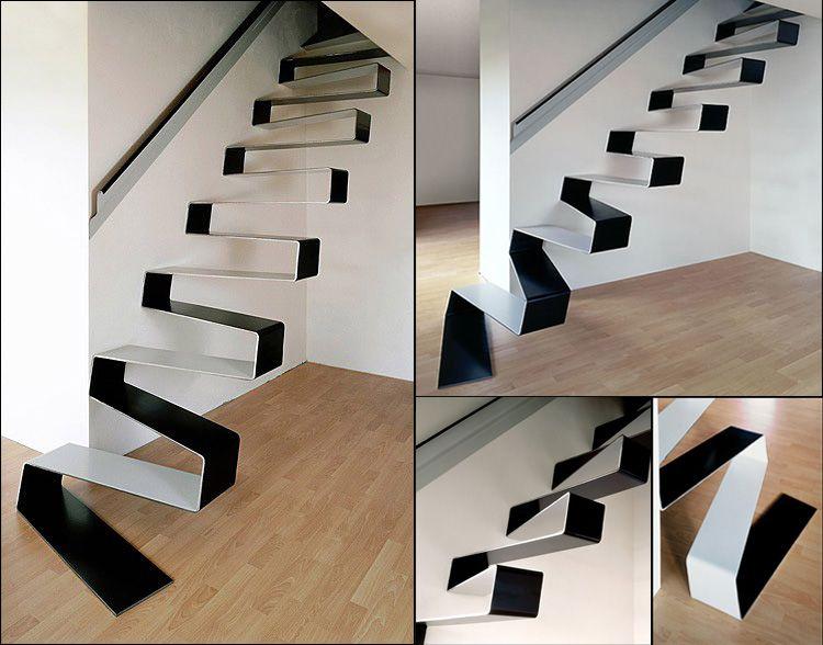 40 foto di scale interne dal design moderno design - Progettazione scale interne ...