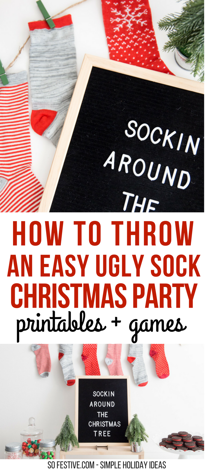 Awesome Original Christmas Party Ideas Part - 14: Christmas Party Idea-Ugly Sweater Party Ideas- Family Christmas Party Ideas  Including Games,