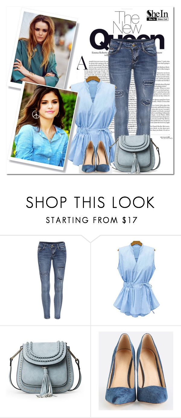 """""""7. SheIn"""" by hetkateta ❤ liked on Polyvore"""