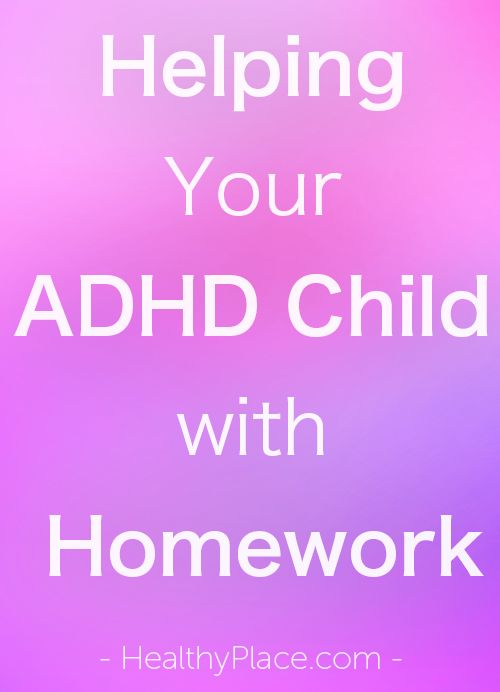 """""""For an ADHD child, doing school homework can be difficult. Learn how to help…"""