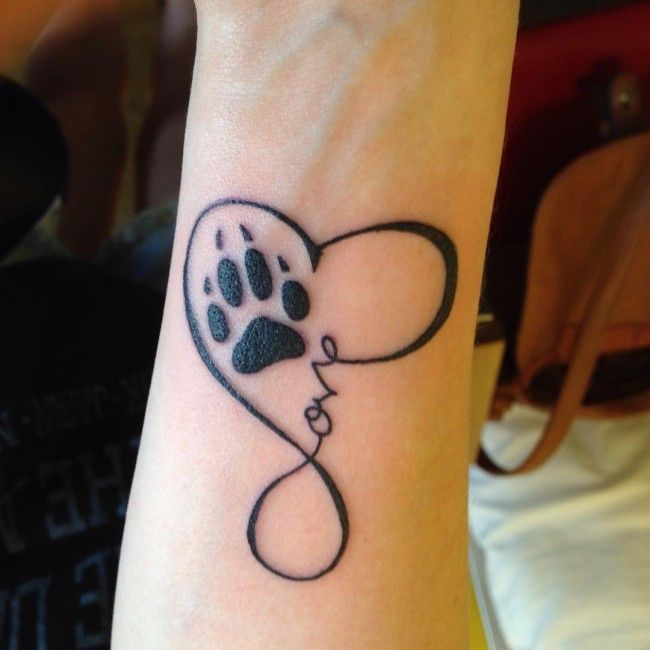 65 Best Paw Print Tattoo Meanings And Designs Nice Trails