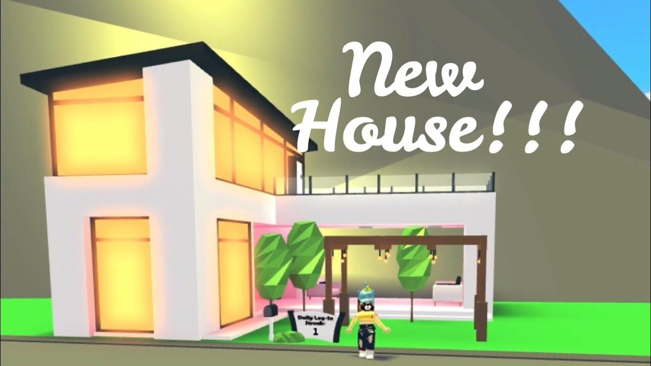 Futuristic House In Roblox Adopt Me Indoor Pool Balcony Its Sugarcoffee Futuristic Home Indoor Pool House